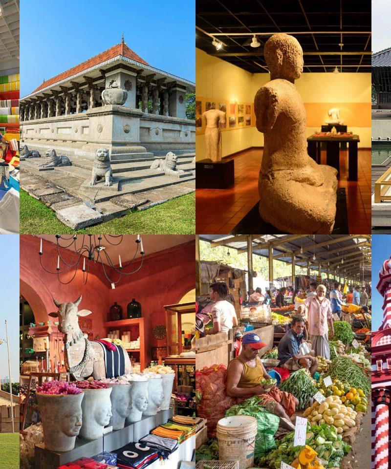 コロンボ市内観光 ショッピング 1日ツアー