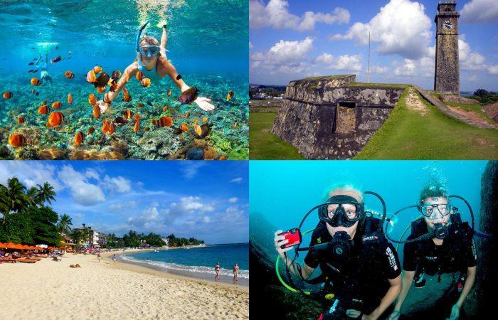 11~3月限定 ヒッカドゥワビーチ ウナワトゥナビーチを楽しむ日帰りツアー