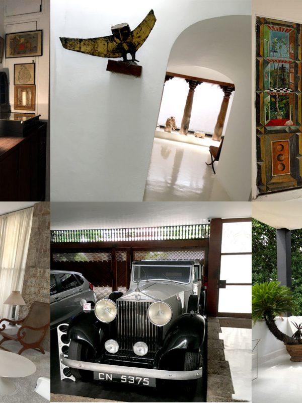 コロンボ市内 ジェフリーバワNO11 見学ツアー