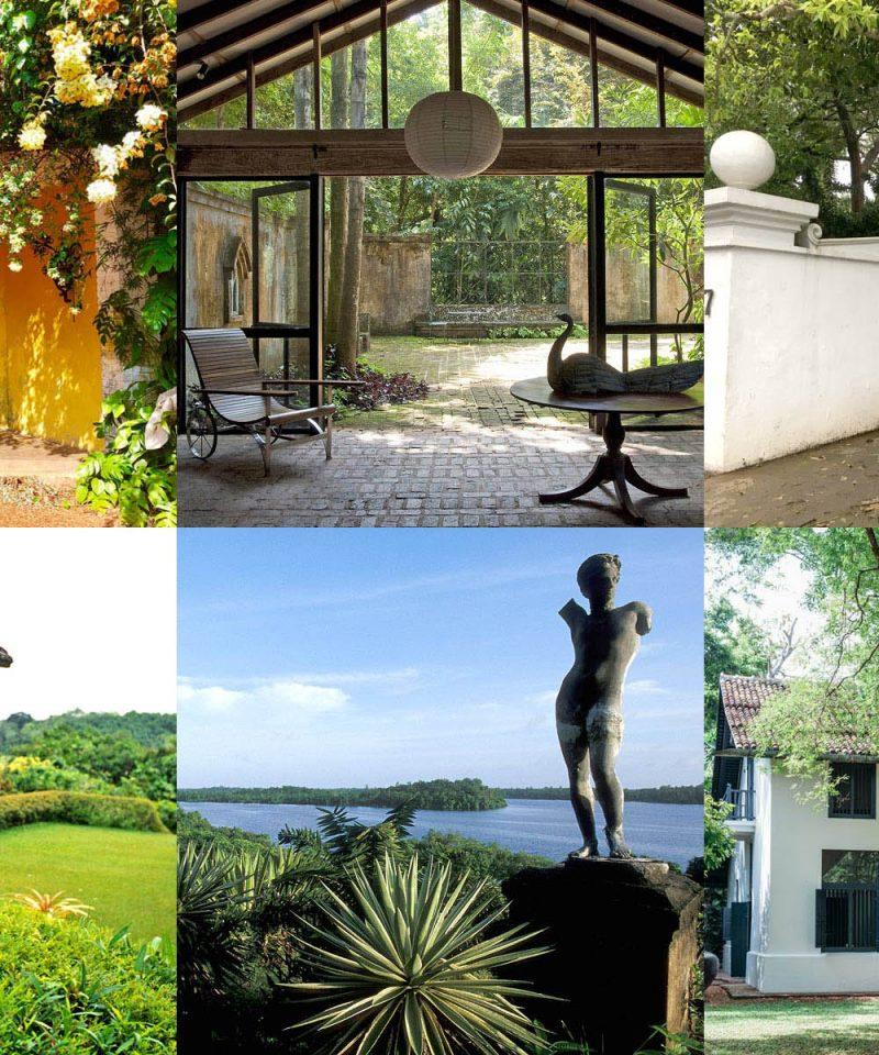 亜熱帯建築の天才ジェフリーバワの建築物を巡る1日ツアー