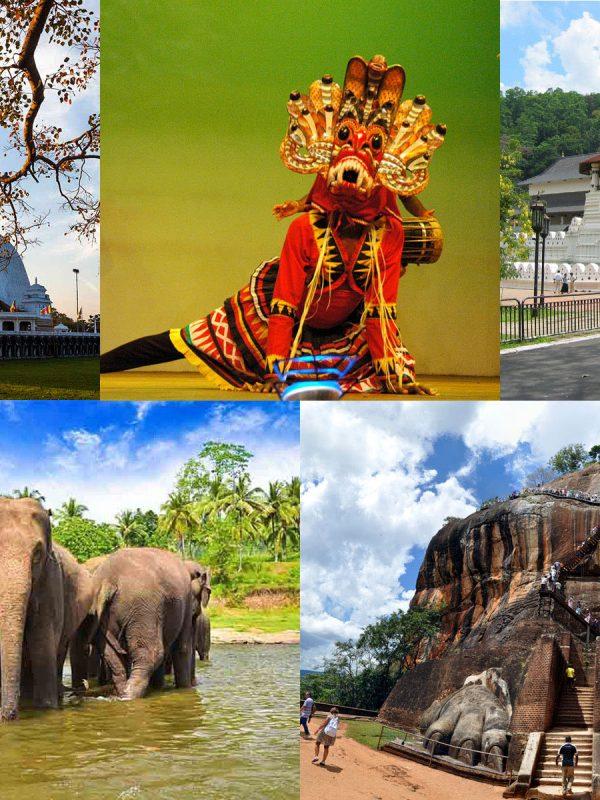 3つの世界遺産 アヌラーダプラ シーギリヤロック 仏歯寺 を巡ります キャンディアンダンスを鑑賞 象の孤児院見学する大満足な3泊の旅