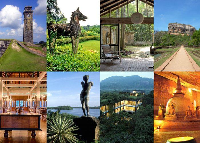 ヘリタンスカンダラマホテル ルヌガンガ ジェフリーバワ建築ご宿泊 3つの世界遺産巡りのツアー